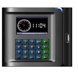 Terminal de control de presencia con banda magnética