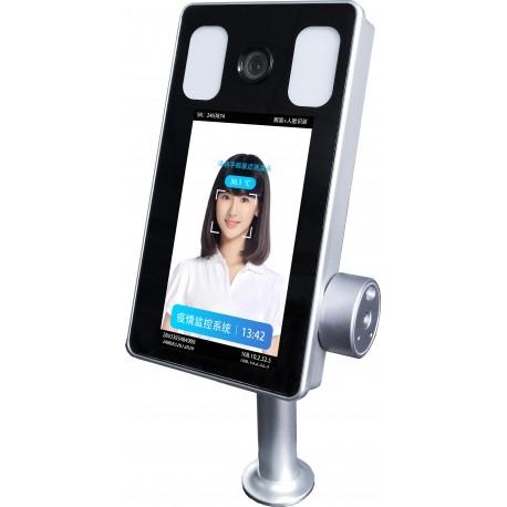 Terminal reconocimiento Facial -Escáner de temperatura - COVID 19